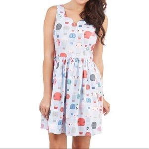 NWT ModCloth Air of Adorable Hot Air Balloon Dress